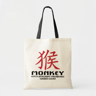 Year of The Monkey Characteristics Tote Bag