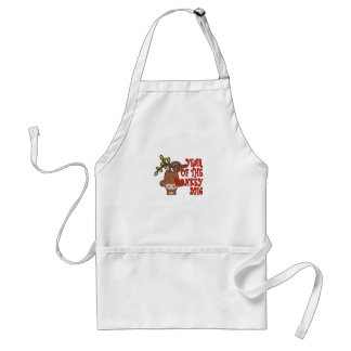 Year of the Monkey - Chinese Lunar New Year 2016 T Adult Apron