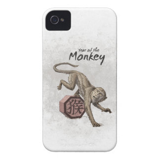 Year of the Monkey Chinese Zodiac Art iPhone 4 Cover