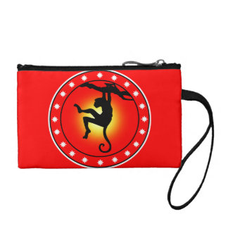 Year of the Monkey Coin Purse