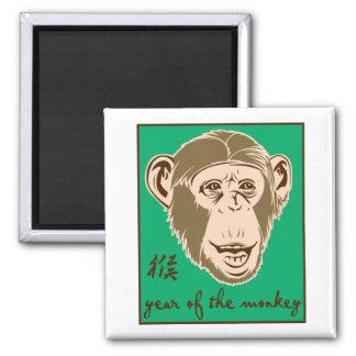 Year Of The Monkey Fridge Magnets