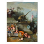 Year of the Monkey  Fruits Flowers Fine Art L Card
