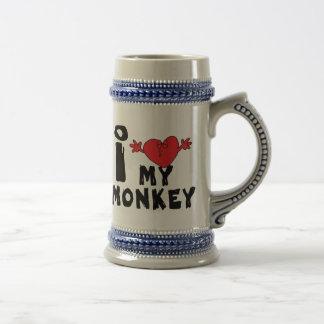 "Year of The Monkey ""I Love My Monkey"" Beer Stein"