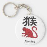 Year of the Monkey Key Chain