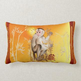 Year Of The Monkey Lumbar Pillow