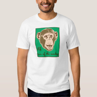 Year Of The Monkey T Shirt