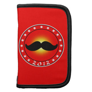 Year of the Mustache 2012 Folio Planner