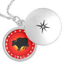 Year of the Ox 1961 Locket Necklace
