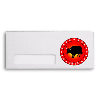 Year of the Ox 1973 Envelopes