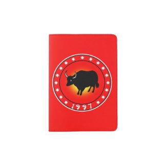 Year of the Ox 1997 Passport Holder