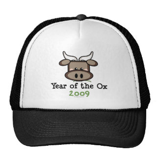 Year Of The Ox 2009 Cap Mesh Hats