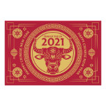 Year of the Ox - 2021 Poster