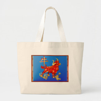 Year Of The Ox Canvas Bag
