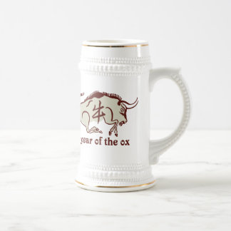 year of the ox beer stein
