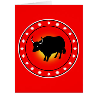 Year of the Ox Cards