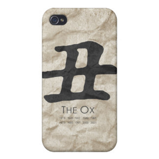 Year of the Ox Case For iPhone 4
