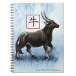 Year of the Ox Chinese New Year Spiral Notebook