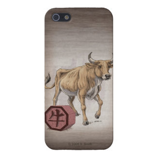 Year of the Ox Chinese Zodiac Art Case For iPhone SE/5/5s