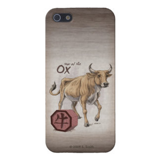 Year of the Ox Chinese Zodiac Art iPhone SE/5/5s Case