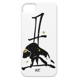 Year of the Ox - Chinese Zodiac iPhone SE/5/5s Case