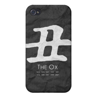 Year of the Ox Covers For iPhone 4