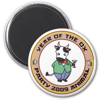 Year of The Ox Gift Magnet
