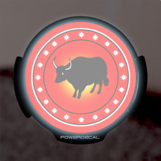 Year of the Ox LED Window Decal