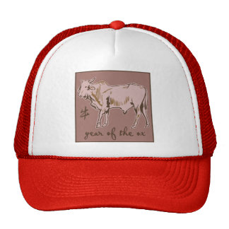 Year of the Ox Trucker Hats