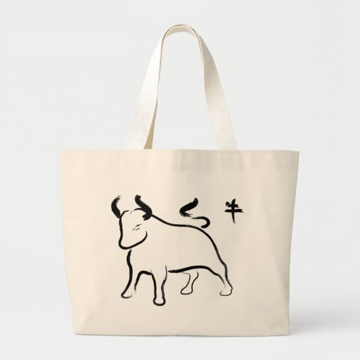 Year of the Ox Jumbo Tote Bag