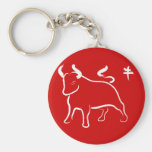 Year of the Ox Key Chain