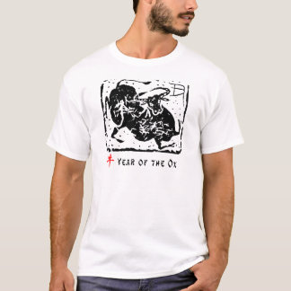 Year of The Ox Paper Cut T-Shirt