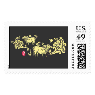 Year of the Ox Postage