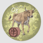 Year of the Ox Sticker