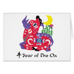 Year of The Ox T-Shirt & Gifts Card