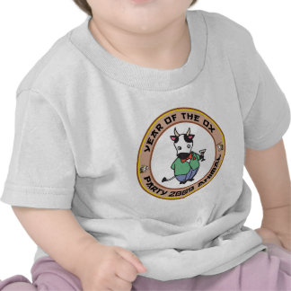 Year of The Ox T Shirt Tshirts