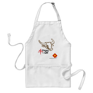 Year of the Ox vNB Adult Apron