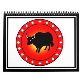 Year of the Ox Calendar