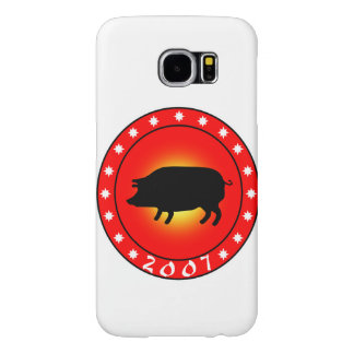 Year of the Pig 2007 Samsung Galaxy S6 Case