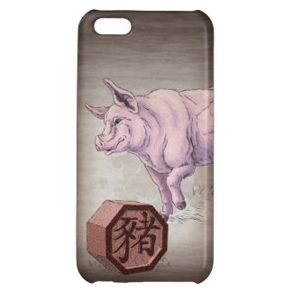 Year of the Pig (Boar) Chinese Zodiac Art iPhone 5C Cover
