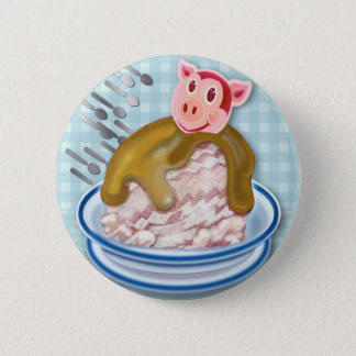 Year Of The Pig Ice Cream Treat - Pinback Button