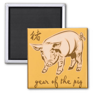 Year Of The Pig Magnets
