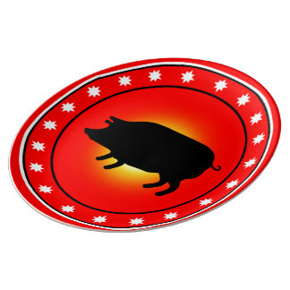 Year of the Pig Plate