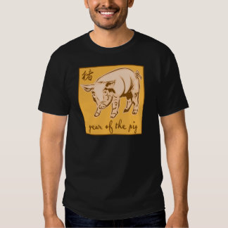 Year Of The Pig Tee Shirt