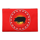 Year of the Pig Travel Accessory Bags