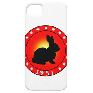 Year of the Rabbit 1951 iPhone 5 Cover