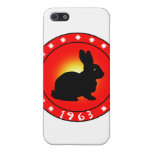 Year of the Rabbit 1963 iPhone 5 Covers