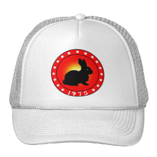 Year of the Rabbit 1975 Trucker Hat