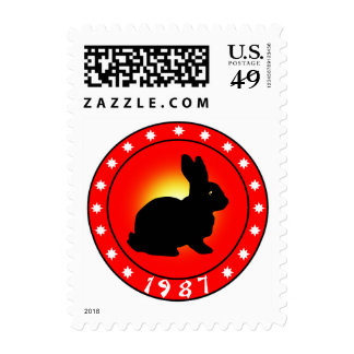 Year of the Rabbit 1987 Stamps