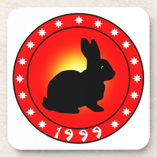 Year of the Rabbit 1999 Drink Coaster