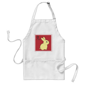 Year of the Rabbit - 2011 Adult Apron